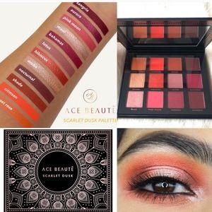 ⬇️Ace Beaute Scarlet Dust Eyeshadow Palette
